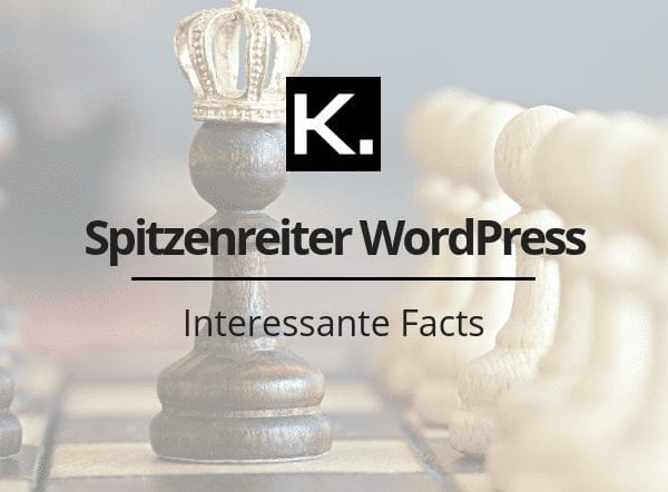 Spitzenreiter WordPress
